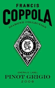 2012 FRANCIS FORD COPPOLA, Pinot Grigio Diamond Collection, California  $12.99