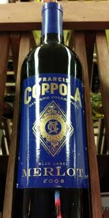 2012 FRANCIS FORD COPPOLA, Merlot Diamond Collection, California  $14.99