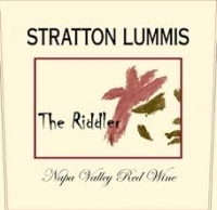 "2012 STRATTON LUMMIS ""THE RIDDLER"", Lot Four, Red Blend, California  $24.99"