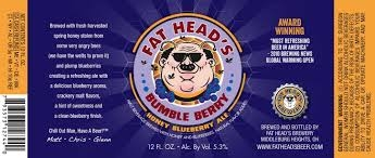 Fat Heads Bumble Berry $3.00 single bottle  5.30% ABV